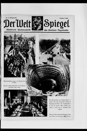 Berliner Tageblatt und Handels-Zeitung on Apr 5, 1925