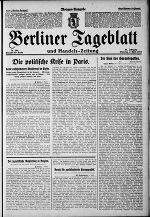 Berliner Tageblatt und Handels-Zeitung vom 07.04.1925