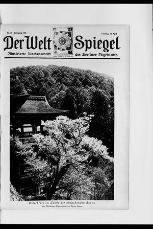 Berliner Tageblatt und Handels-Zeitung vom 12.04.1925