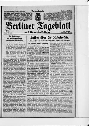 Berliner Tageblatt und Handels-Zeitung vom 02.05.1925