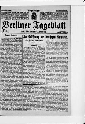 Berliner Tageblatt und Handels-Zeitung vom 05.05.1925