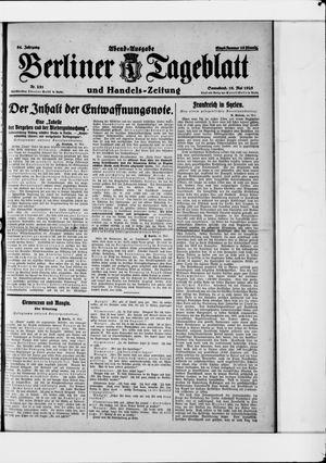 Berliner Tageblatt und Handels-Zeitung vom 16.05.1925