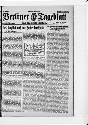 Berliner Tageblatt und Handels-Zeitung vom 18.05.1925