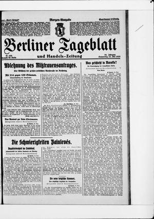Berliner Tageblatt und Handels-Zeitung vom 21.05.1925