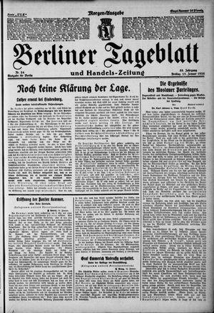Berliner Tageblatt und Handels-Zeitung vom 15.01.1926