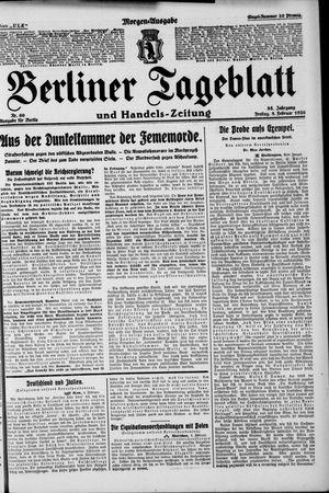 Berliner Tageblatt und Handels-Zeitung on Feb 5, 1926