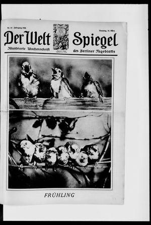 Berliner Tageblatt und Handels-Zeitung vom 21.03.1926