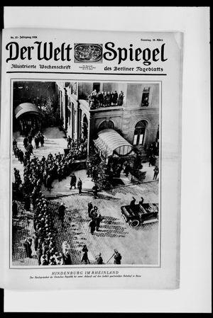 Berliner Tageblatt und Handels-Zeitung vom 28.03.1926