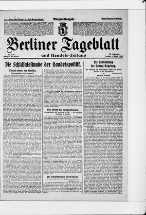 Berliner Tageblatt und Handels-Zeitung vom 02.04.1926