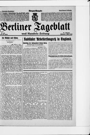 Berliner Tageblatt und Handels-Zeitung vom 07.04.1926