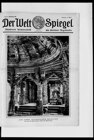 Berliner Tageblatt und Handels-Zeitung vom 11.04.1926