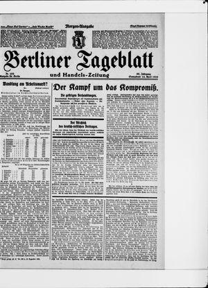 Berliner Tageblatt und Handels-Zeitung on Apr 24, 1926