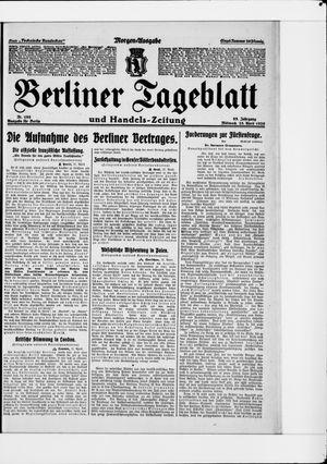 Berliner Tageblatt und Handels-Zeitung vom 28.04.1926