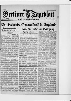 Berliner Tageblatt und Handels-Zeitung vom 03.05.1926