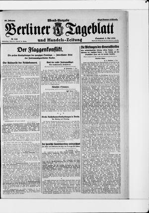 Berliner Tageblatt und Handels-Zeitung vom 08.05.1926