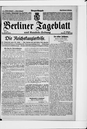 Berliner Tageblatt und Handels-Zeitung vom 11.05.1926
