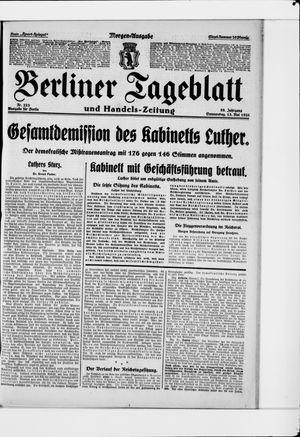 Berliner Tageblatt und Handels-Zeitung on May 13, 1926