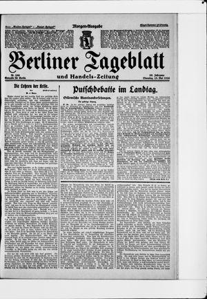 Berliner Tageblatt und Handels-Zeitung vom 18.05.1926