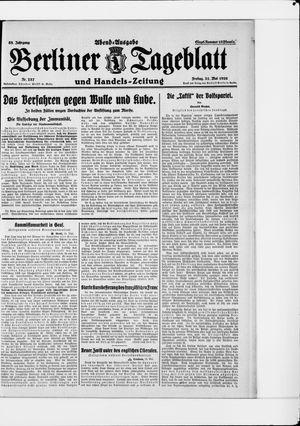 Berliner Tageblatt und Handels-Zeitung vom 21.05.1926