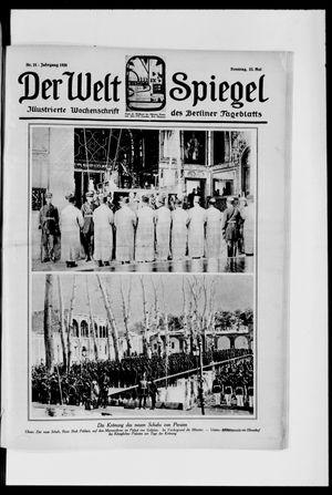 Berliner Tageblatt und Handels-Zeitung vom 23.05.1926
