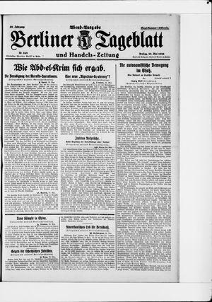 Berliner Tageblatt und Handels-Zeitung vom 28.05.1926