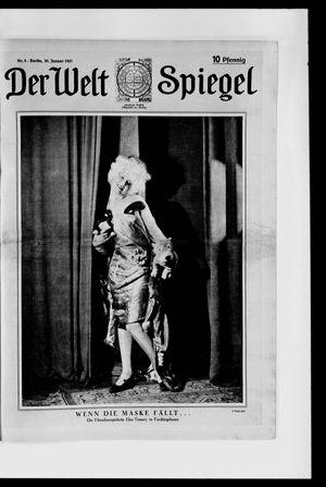 Berliner Tageblatt und Handels-Zeitung on Jan 30, 1927
