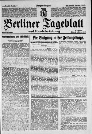 Berliner Tageblatt und Handels-Zeitung vom 02.02.1927