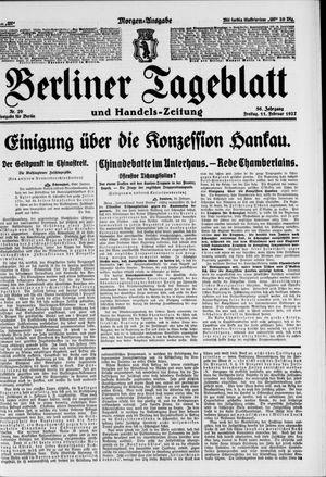 Berliner Tageblatt und Handels-Zeitung vom 11.02.1927