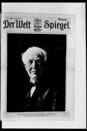 Berliner Tageblatt und Handels-Zeitung vom 13.02.1927