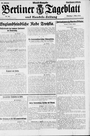 Berliner Tageblatt und Handels-Zeitung vom 01.03.1927