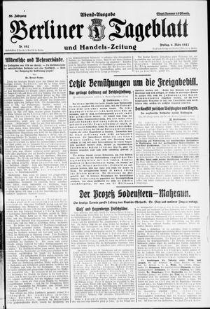 Berliner Tageblatt und Handels-Zeitung vom 04.03.1927