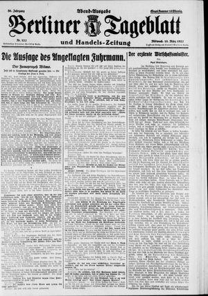 Berliner Tageblatt und Handels-Zeitung vom 16.03.1927