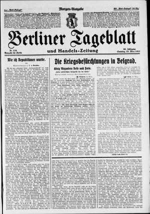 Berliner Tageblatt und Handels-Zeitung vom 20.03.1927