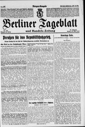 Berliner Tageblatt und Handels-Zeitung (25.03.1927)