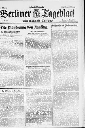 Berliner Tageblatt und Handels-Zeitung vom 28.03.1927