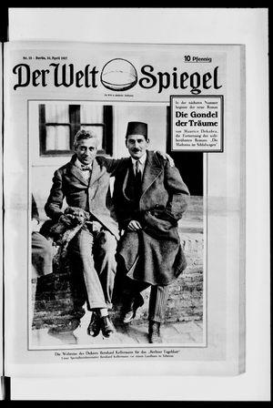 Berliner Tageblatt und Handels-Zeitung vom 10.04.1927