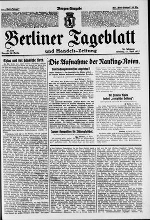 Berliner Tageblatt und Handels-Zeitung vom 17.04.1927
