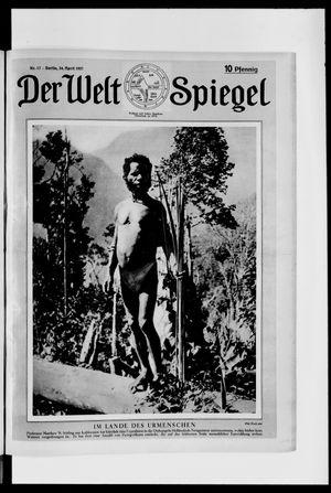 Berliner Tageblatt und Handels-Zeitung vom 24.04.1927