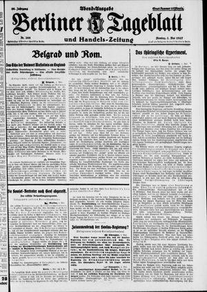 Berliner Tageblatt und Handels-Zeitung on May 2, 1927