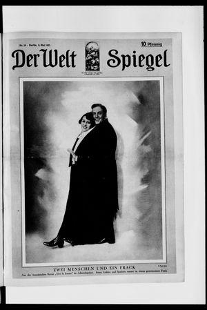 Berliner Tageblatt und Handels-Zeitung vom 08.05.1927