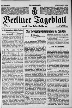 Berliner Tageblatt und Handels-Zeitung vom 08.01.1928