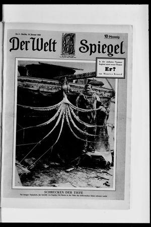 Berliner Tageblatt und Handels-Zeitung on Jan 15, 1928