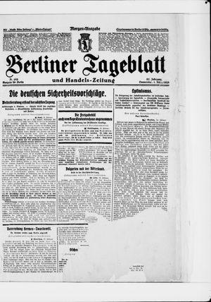Berliner Tageblatt und Handels-Zeitung on Mar 1, 1928