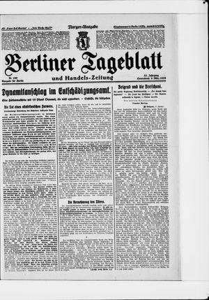 Berliner Tageblatt und Handels-Zeitung vom 03.03.1928