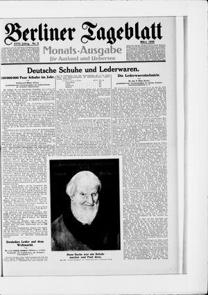 Berliner Tageblatt und Handels-Zeitung vom 05.03.1928