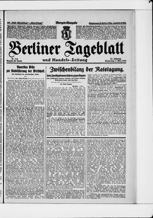 Berliner Tageblatt und Handels-Zeitung on Mar 8, 1928