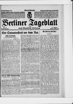 Berliner Tageblatt und Handels-Zeitung vom 09.03.1928