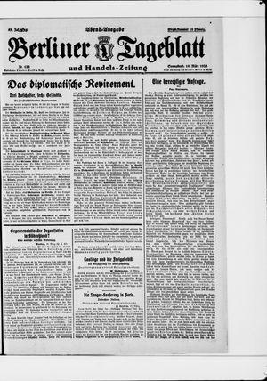 Berliner Tageblatt und Handels-Zeitung vom 10.03.1928