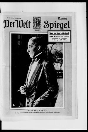 Berliner Tageblatt und Handels-Zeitung vom 11.03.1928