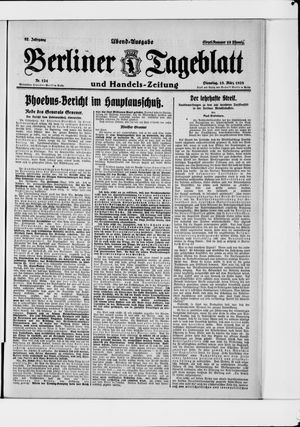 Berliner Tageblatt und Handels-Zeitung vom 13.03.1928